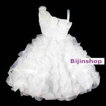 Vestido Infantil Festa/princesa/daminha Várias Cores 8,10,12
