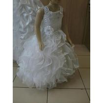 Vestido Dama Honra Noivinha Festas Aniversario Infantil