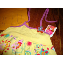 Vestido Infantil Menina 4 Anos Malwee Novo Borboleta Flores