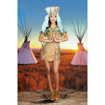 Fantasia Índia Americana Celestial Import Tam. P ( 36 A 38)