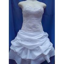 Super Promoção De Vestido Curto Para Noivas Ou Debutantes