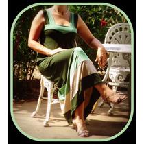 Vestido Longo De Viscolycra Moda.