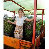 Vestido Festa Infantil Criança Bebê Menina - Zinha By Enjoy