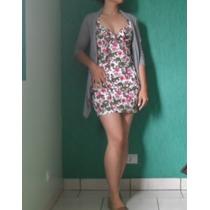 Vestido Floral Panicat Verão Marca On Top Jeans Frete Grátis