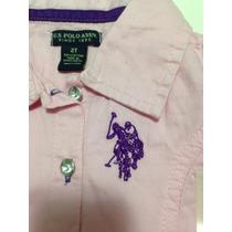 Vestido Infantil Polo Usa Tam 2 Importado Novo Tenho Lilica