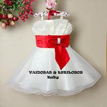 Vestido Festa Infantil 2 A 03 Anos Lindo!