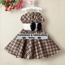 Vestido Festa Infantil 1 A 06 Anos Lindo!