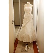 Vestido De Noiva - Estilista Famosa Priscilla Of Boston - Ny