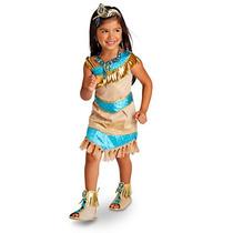 Fantasia Pocahontas Disney Store Oficial 7/8 Anos Importada