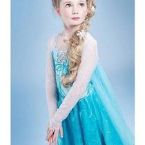 Fantasia Vestido Frozen Elsa E Anna. 2e3anos Pronta Entrega