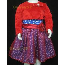 Vestido Fantasia Infantil Galinha Pintadinha Bolero E Tiara