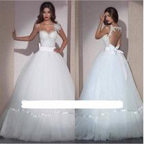 Vestido De Noiva / Debutante Pronta Entrega Importado