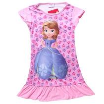 Camisola Infantil Princesinha Sofia