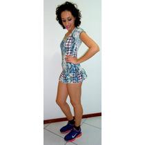 Macacão Vestido Suplex Fitness Ginástica Verão 2015