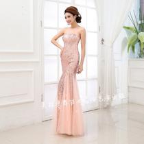 Vestido Longo De Lantejoulas Luxo Importado Pronta Entrega