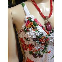 Vestido Longo Floral Importado G