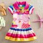 Vestido Infantil Peppa Pig - Pronta Entrega 1 A 5 Anos