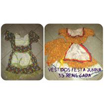 Promoção Vestido Festa Junina - 1 Por R$30 Ou 2 Por R$50