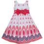 Vestido Infantil Criança Verão Floral Aniversário, Festa