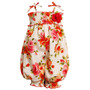 Bonnie Baby Bebe Importado Macacoes Outfit Floral Tam 3 Anos