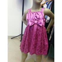 Vestido Infantil Babioli,tamanho 4 .de:128,00 Por:79,00