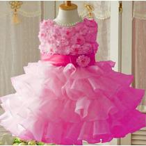 Vestido De Festa Infantil Casamento, Aniversário,formatura