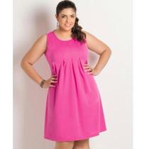 Vestido Lindo Plus Size Modela O Corpo Tamanho G Fashion
