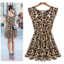 Vestido Oncinha Leopardo - Pronta Entrega - Sensual