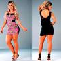 Vestido Lipsy Lipsoul Girls Panicat - Original