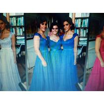 Lindo Vestido De Festa Casamento Madrinha Formatura