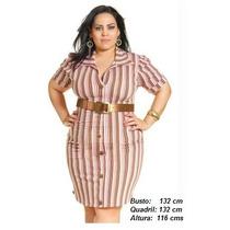 Vestido Size Plus Tamanho Grande Especial G Gg Xxg 52 54