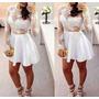 Vestido De Renda Curto