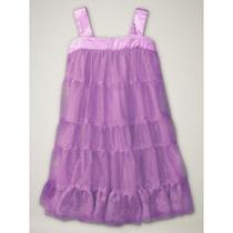 Vestido Gap * Em Camadas * Bailarina * Lílas 2 Anos