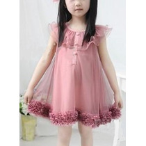 Vestido Infantil - Pronta Entrega - Frete Grátis - Sandello