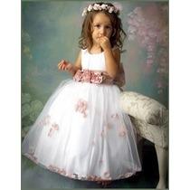 Vestido Festa Infantil Casamento Daminha Aniversário