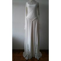 Magnífico Vestido De Noiva Celta Modelo Único De Atelier M