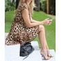 Vestido Importado Oncinha/leopardo Animal Print