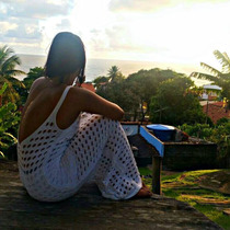 Vestido Tricot Costas Nua