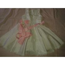 Vestido De Festa Para Menina De 2 A 3 Anos