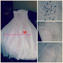 Vestido De Noiva Branco Novo (pronta Entrega)