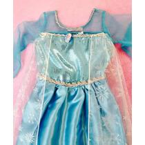 Frozen Fantasia Vestido Carnaval Elsa Anna Pronta Entrega!
