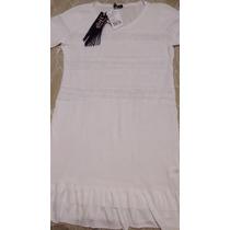 Vestido Les Filós Branco - Novo, Excelente Preço!!!