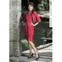 Vestido Joyaly C/ Casaco (38 A 46) - Pura Flor M. Evangélica
