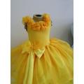 Vestido / Fantasia Bela De A Bela E A Fera Tamanhos 1 Ao 12