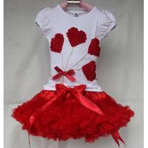 Conjunto Infantil Bailarina Ballet Tutu Festa Pronta Entrega