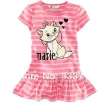 Vestido Infantil Importado Gatinha Marie ( Temos Frozen)