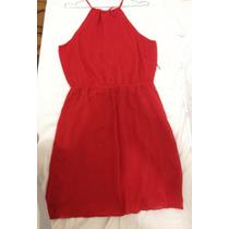 Lindo Vestido De Festa Vermelho Tamanho 42 Da Marca Collins