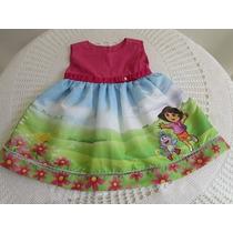 Vestido Dora Aventureira Pronta Entrega