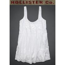 Hollister Abercrombie Vestido Script Pier Dress P/ent Tam P