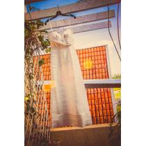 Vestido De Noiva Importado Estilista Max Azria + Voilette